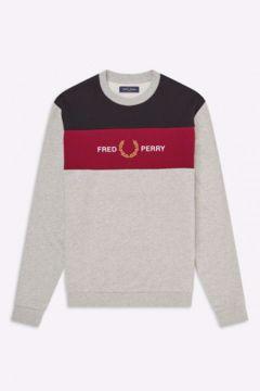 Fred Perry EMB Panel Sweatshirt
