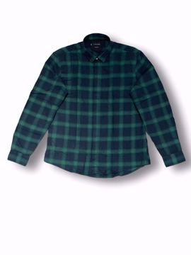 Billede af Casual Friday Checked Shirt Green