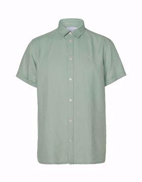 Billede af Les Deux Lando Linen SS Shirt Mint