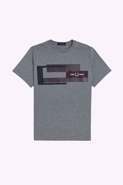 Billede af Fred Perry Mixed Graphic T-shirt