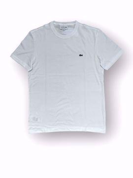Billede af Lacoste Classic Logo T-shirt Hvid