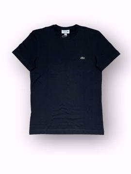 Billede af Lacoste Classic Logo T-shirt Sort