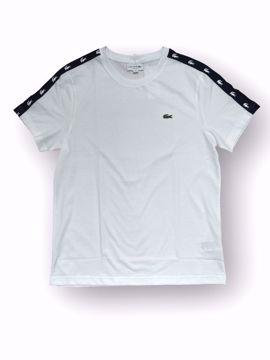 Billede af Lacoste Taped T-shirt Hvid