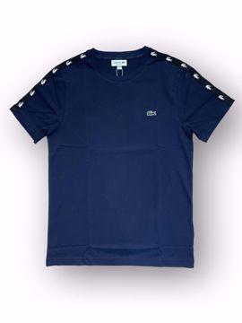 Billede af Lacoste Taped T-shirt Navy